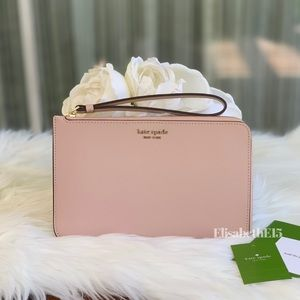 Kate Spade Cameron Medium L-Zip Wristlet